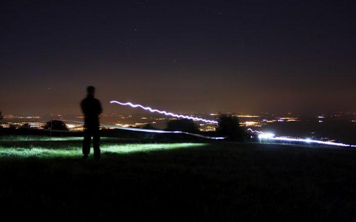 led-lenser-running-de-nuit