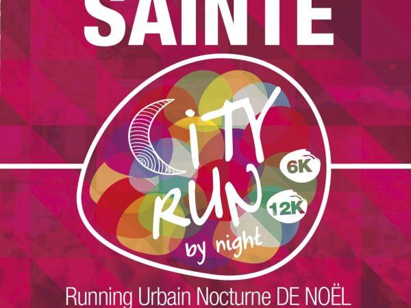 Affiche Sainté City Run 2016