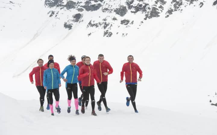 Team terre de running trail blanc la rosière