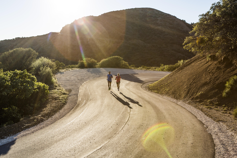 préparer une course sur route
