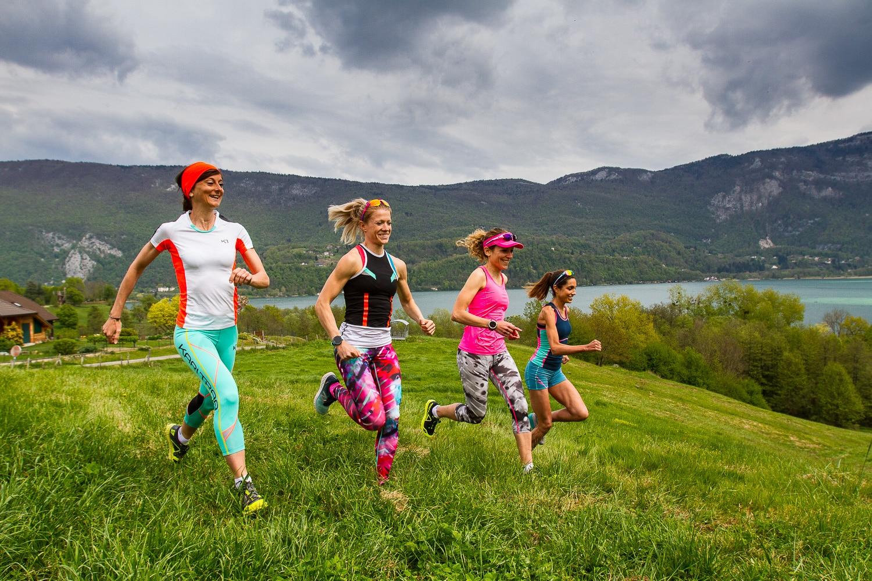 Marie Paturel, Marie Dohin, Anne-Sophie Vittet et marie-Amélie Juin composent le team Kari Traa