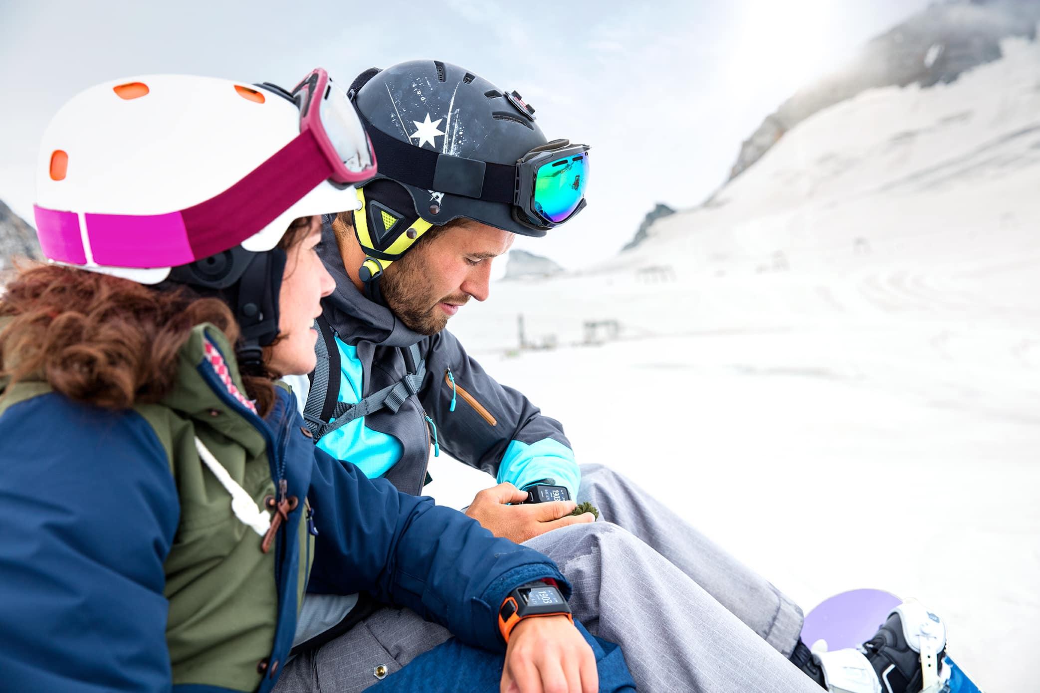 ski de piste activité hiver