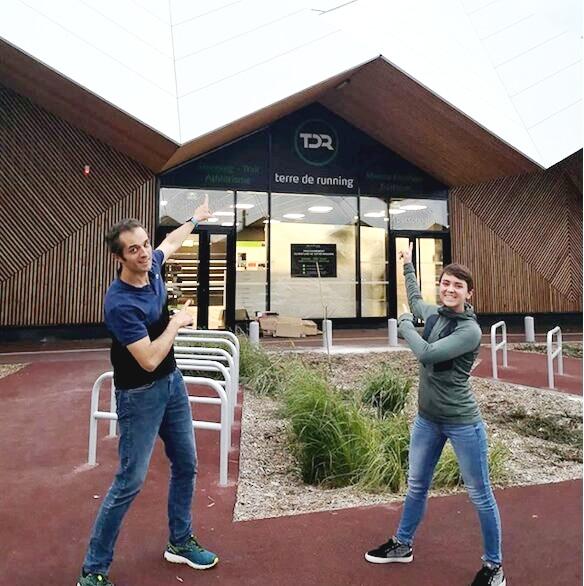 Devanture magasin Terre de Running Brétigny