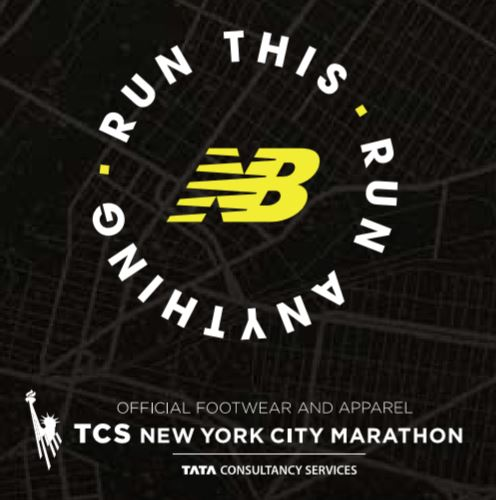 Affiche officielle du marathon de new york
