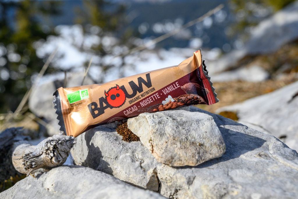 barre énergétique baouw cacao