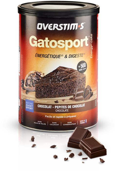Emballage du gatosport antioxydant de la marque overstims