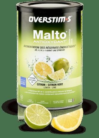 Emballage du malto antioxydant de la marque overstims